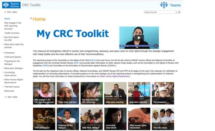 Committee on the Rights of the Child Monitoring Toolkit