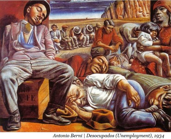 Desocupados (Unemployment) but Antonia Berni, 1934