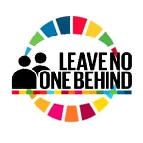 Leave No One Behind Logo