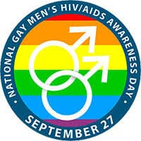 National Gay Men's HIV/AIDS Awareness Day Logo - September 27