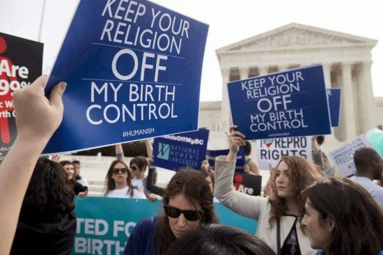 Pro-Choice Protestors at the US Supreme Court