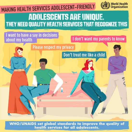 Making Health Services Adolescent-Friendly Poster