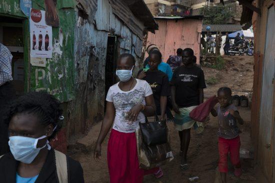 The Kibera slum in Nairobi, Kenya, during COVID-19. Physical (social) distancing will not be easy