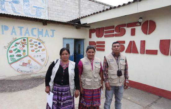 Community health defenders in SanCristóbal Totonicapán, Guatemala.