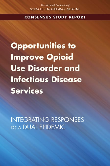 Opportunities to Improve Opioid Use Disorder and Infectious Disease Services Report cover