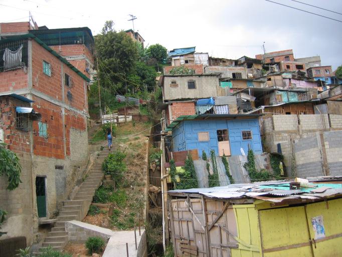 houses on a hillside