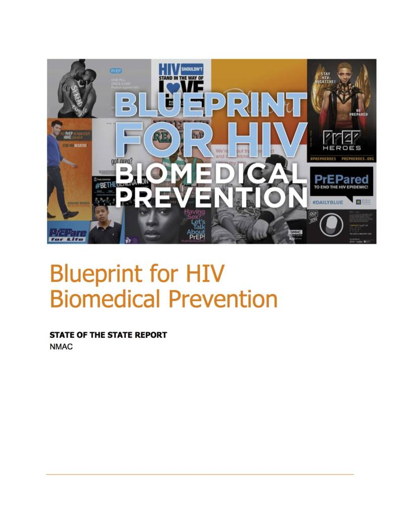 Blueprint for HIV Biomedical Prevention Report Cover
