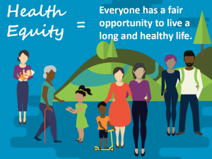 Health equity poster