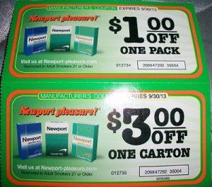 Newport coupons