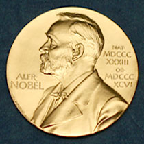 Image of a Nobel Peace Prize
