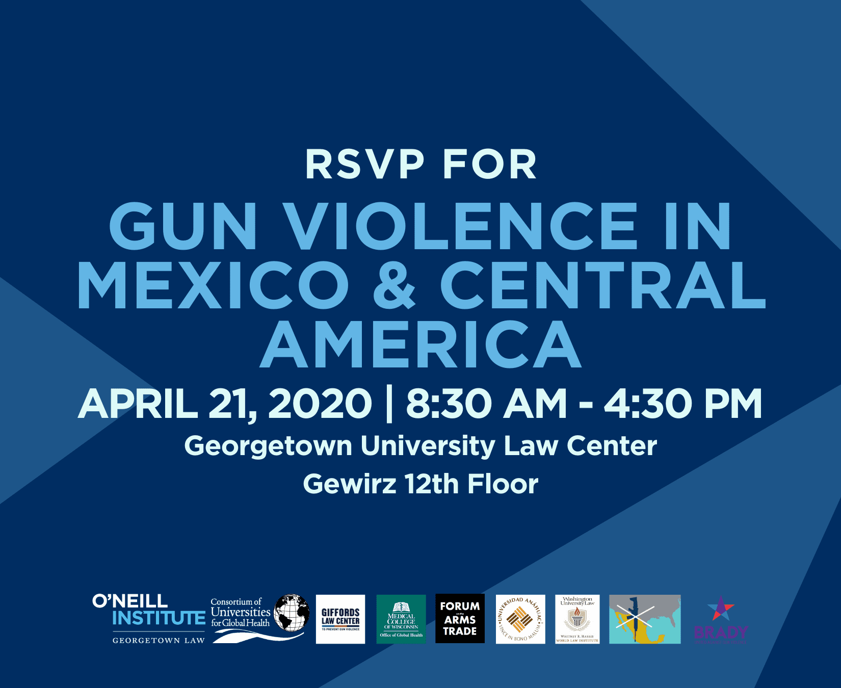 Gun Violence in Mexico & Central America. 4/21/2020 Georgetown University Law Center