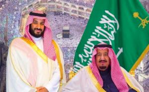 Saudi Prince Mohammad Bin Salman and King Salman