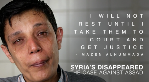 Mazen Alhummada survived torture at the hands of the Syrian regime, and is now a tireless advocate for justice.