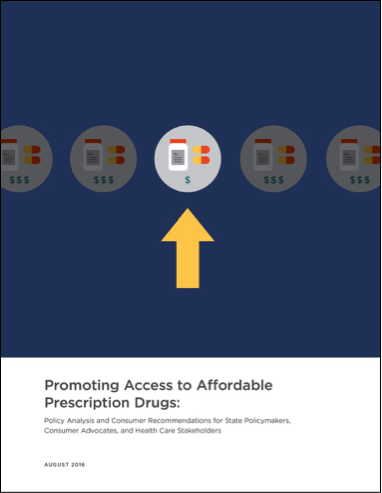Promoting Access to Affordable Prescription Drugs Report Cover