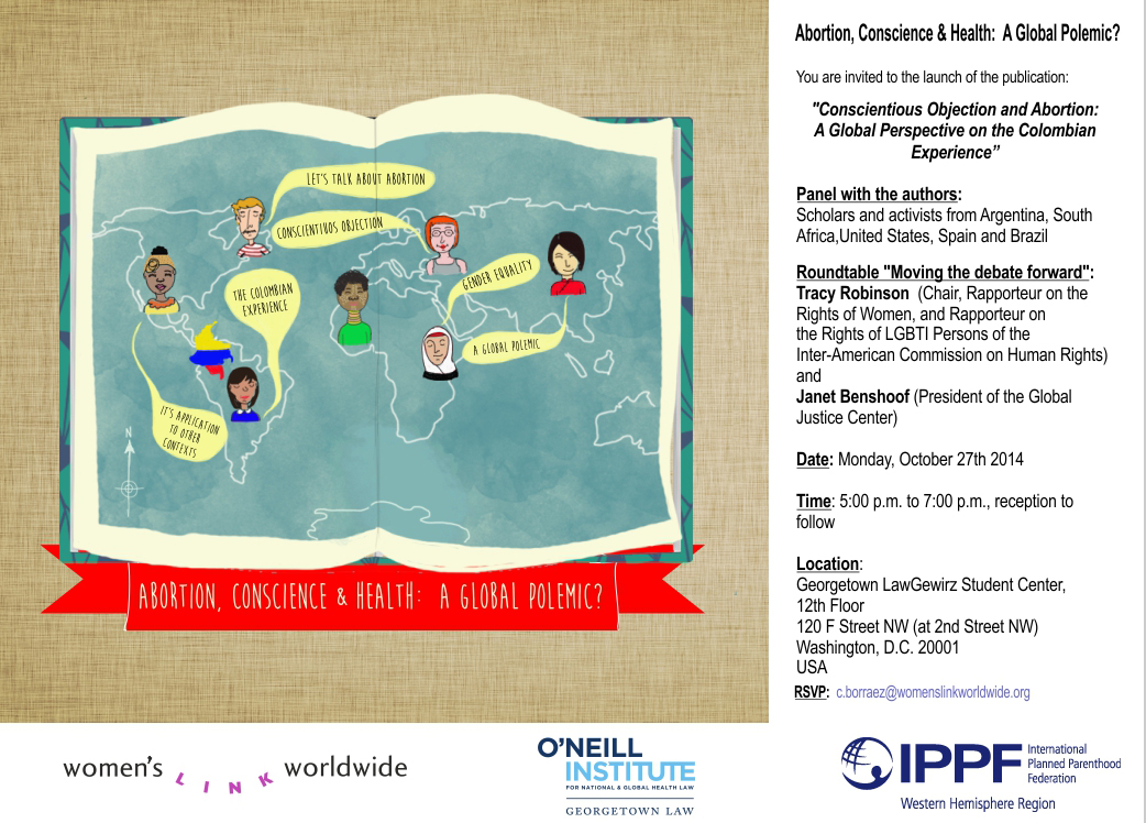 Abortion, Conscience, and Health: A Global Polemic? Event Poster