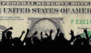 US dollar graphic