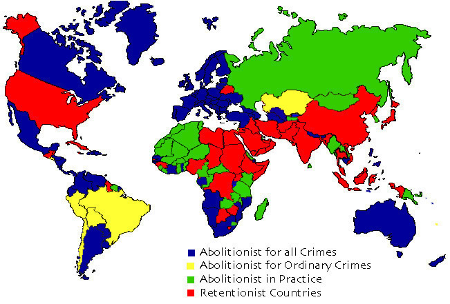 Image courtesy of Death Penalty Information Center