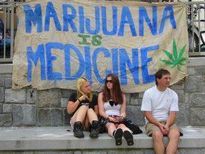Marijuana is medicine banner