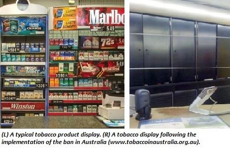 tobacco displays