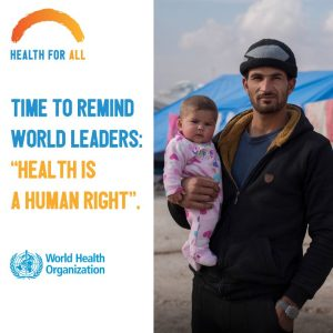 Time to remind world leaders: Health is a human right